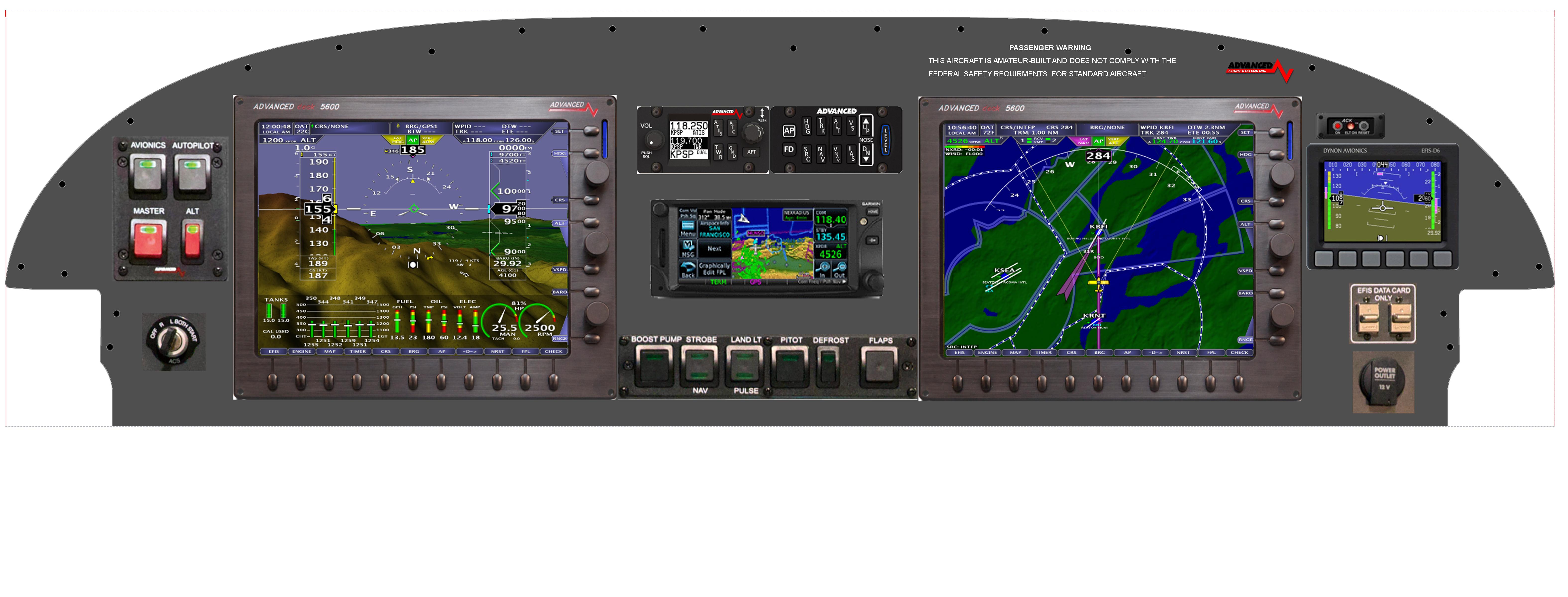 Advanced Flight Systems Rv Wiring Harness Diagram Panel Options